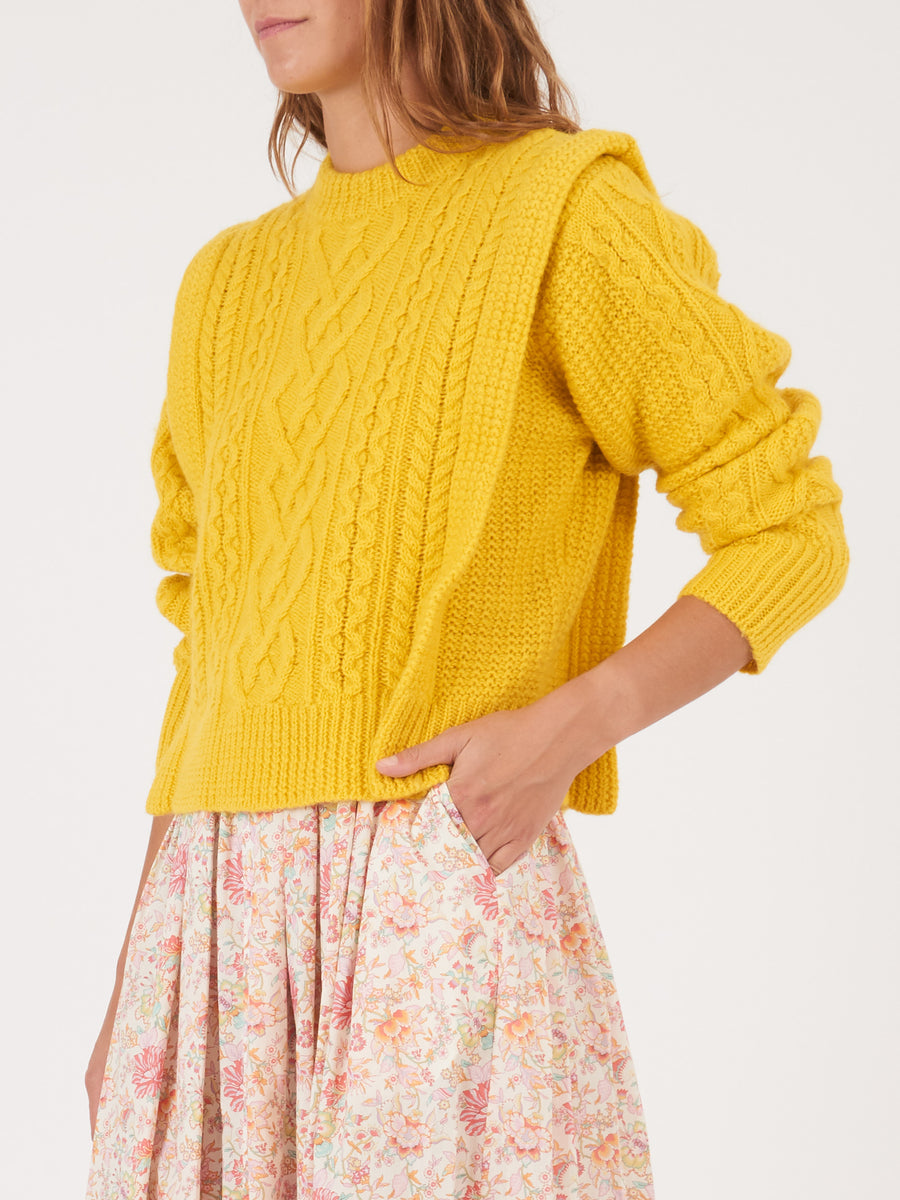 Isabel-Marant-Etoile-Yellow-Tayle-Sweater-on-body