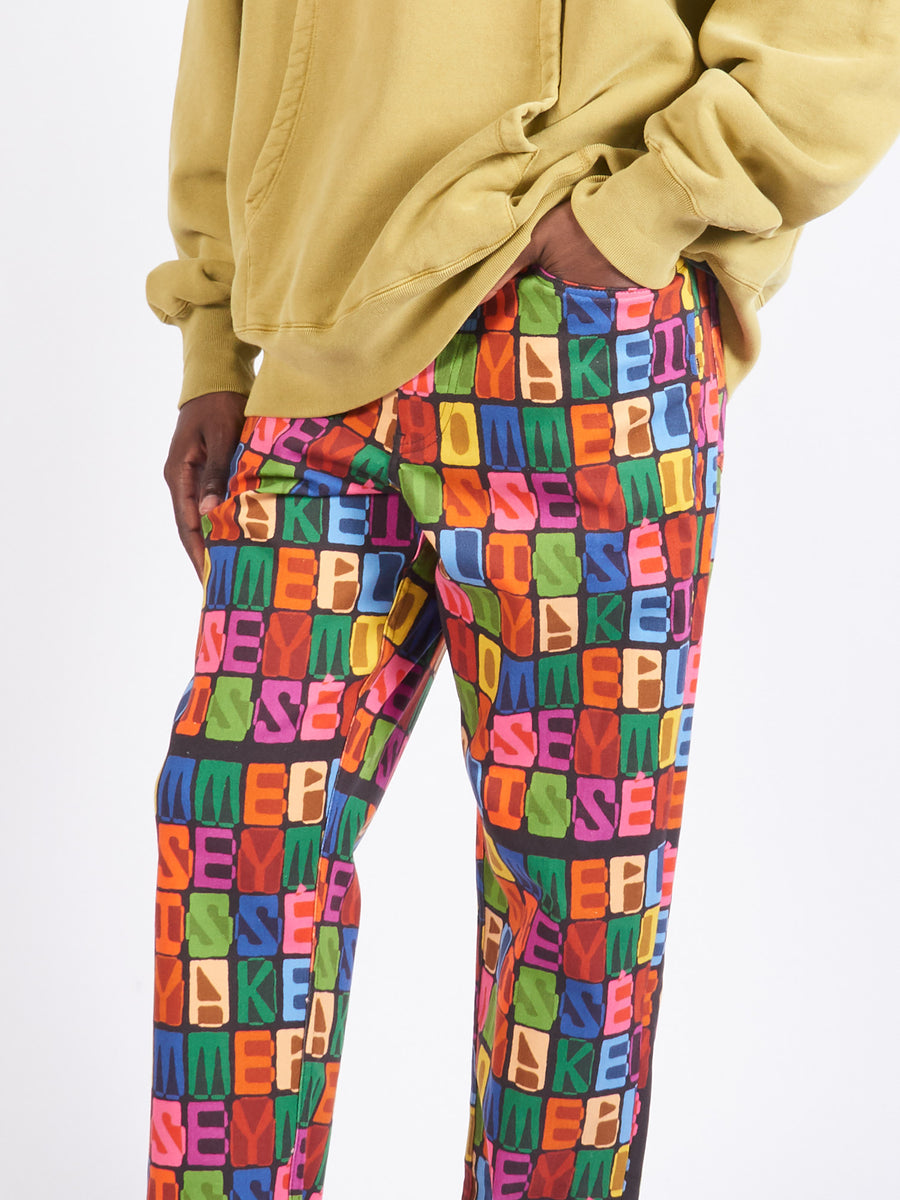 Monogram Trousers