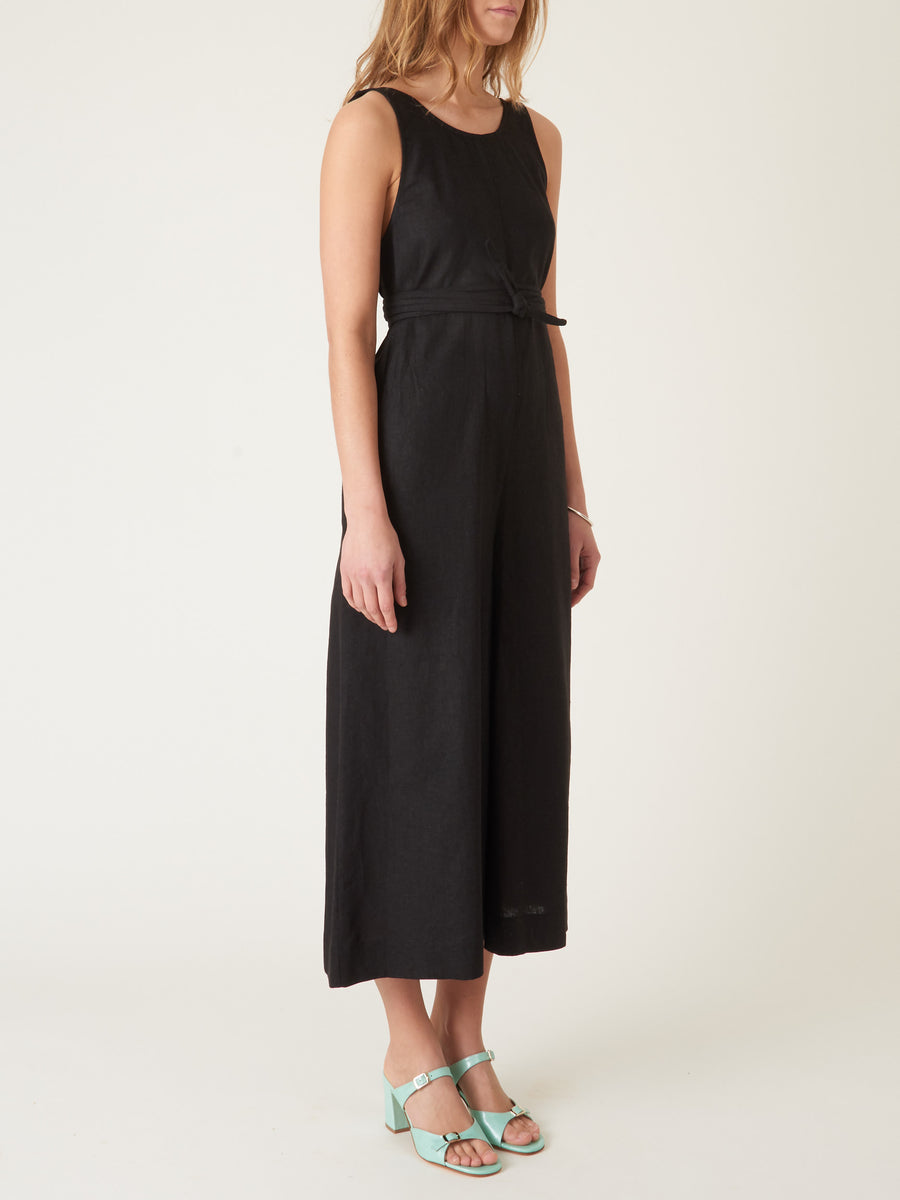 jesse-kamm-Black-Palma-Jumpsuit-on-body