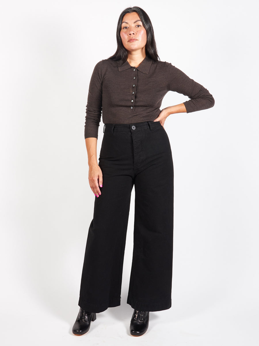 Black Sailor Pants