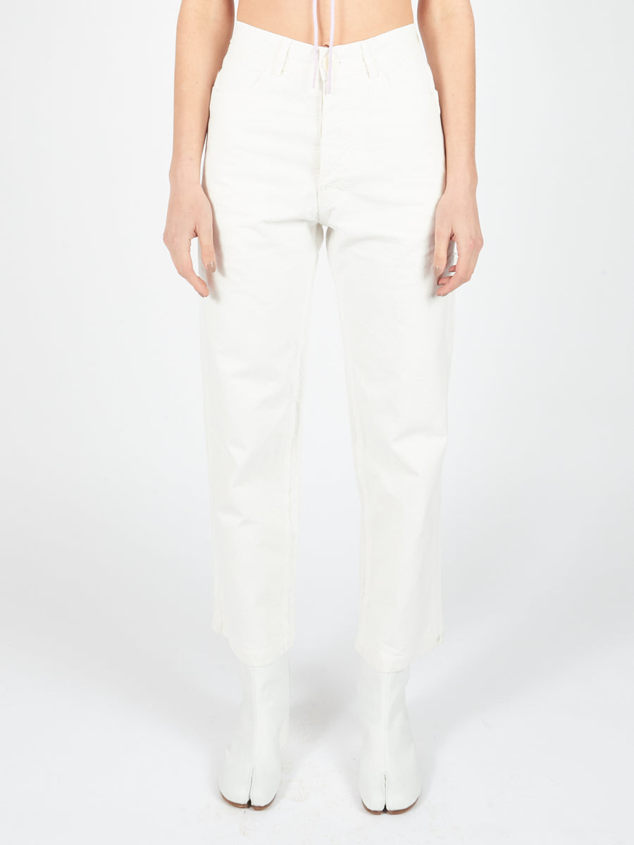 Salt White Handy Pant