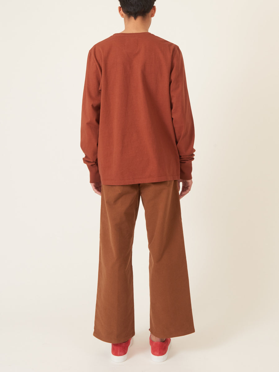 last-heavy-Rust-Dangerous-Boy-L/S-Tee-on-body