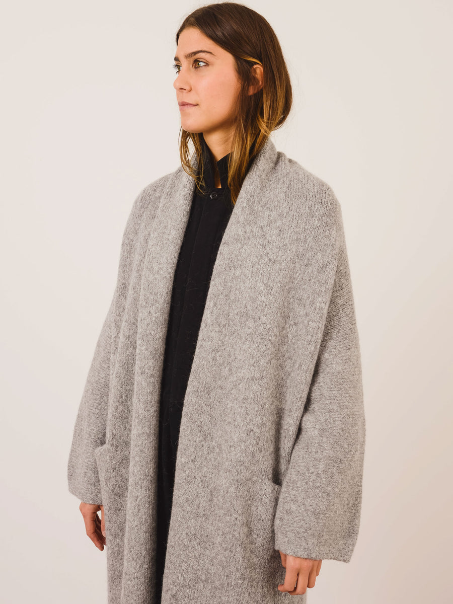 lauren-manoogian-felt-long-shawl-cardigan-on-body