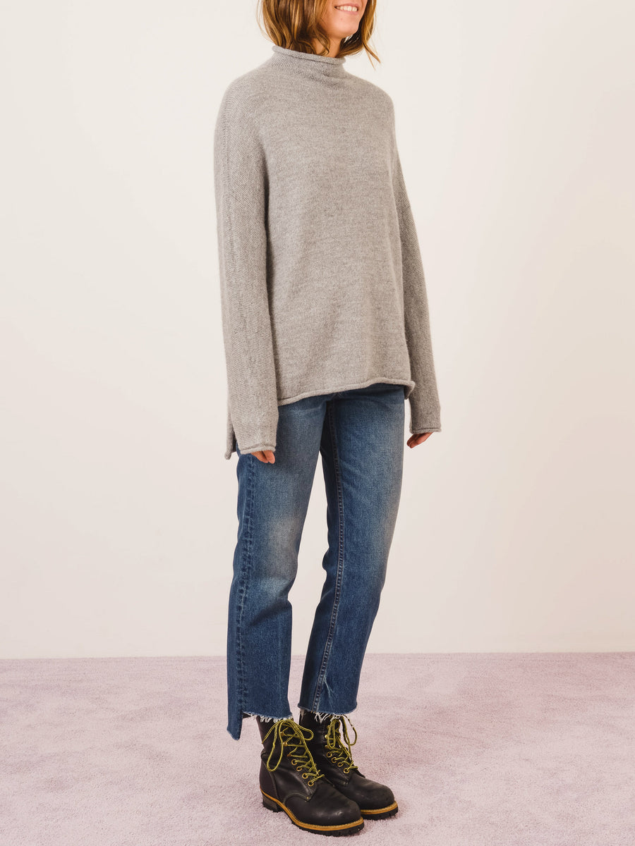 lauren-manoogian-felt-oversized-rollneck-sweater-on-body