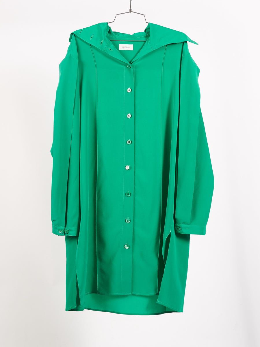 lemaire-deep-mint-shirtdress-on-body