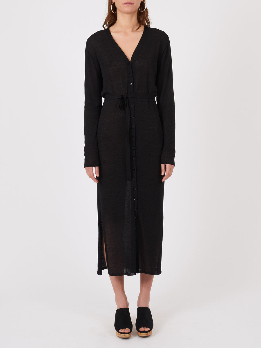 lemaire-Black-Cardigan-Dress-on-body