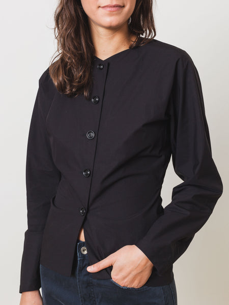 Black Fitted Shirt