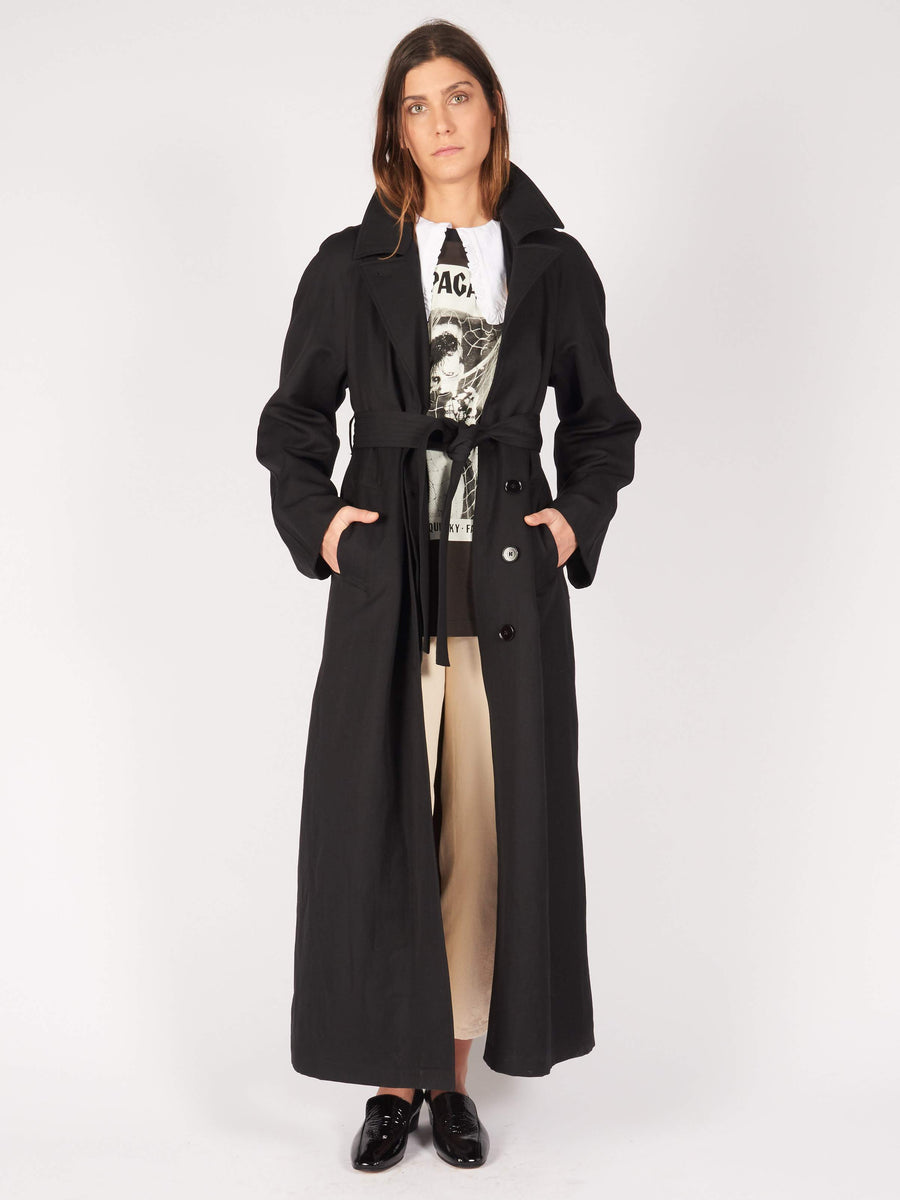 Lemaire-Black-Straight-Coat-on-body