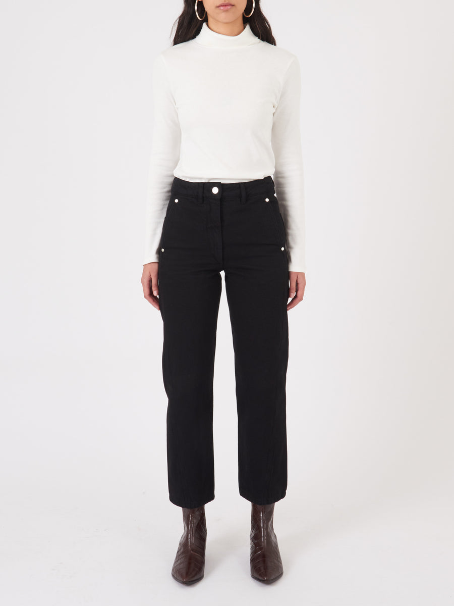 Lemaire-Black-Twisted-Pants-on-body