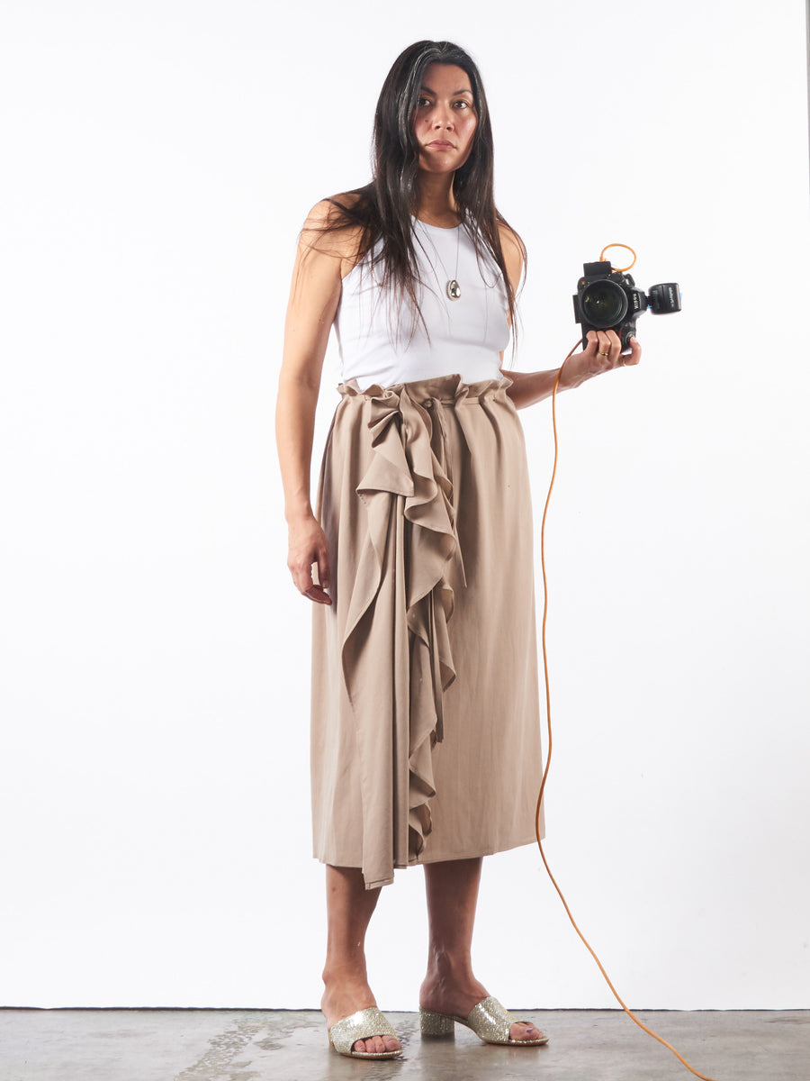 lemaire-sand-skirt-with-ruffles-on-body