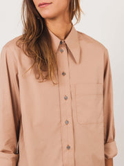 lemaire-tea-rose-pointed-collar-shirt-on-body