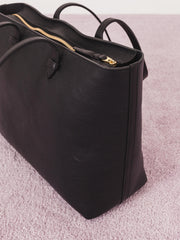 lotuff-black-no.12-leather-tote