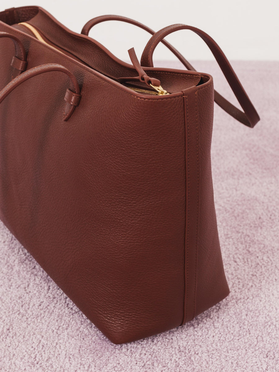 Chestnut No. 12 Leather Tote