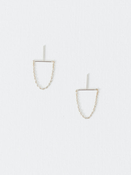Better Late Than Never - Sterling Silver Transit Earrings