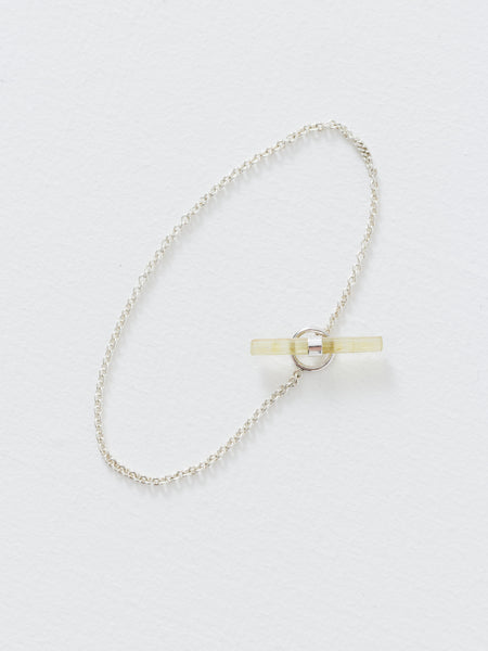 Better Late Than Never - Crystal Lariat Bracelet