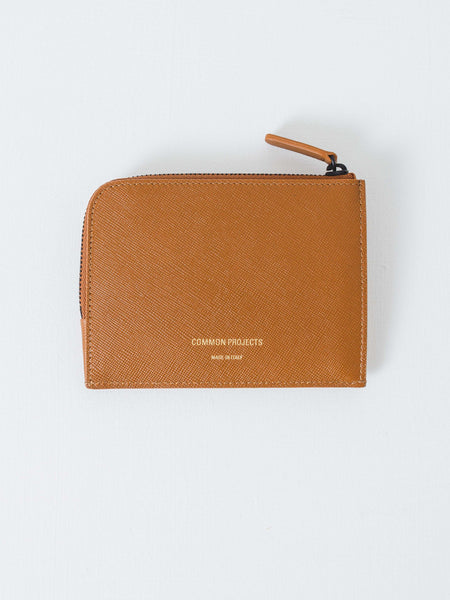 Common Projects - Brown Half-Zip Wallet