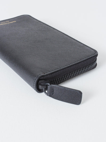Common Projects - Black Large Zipper Wallet