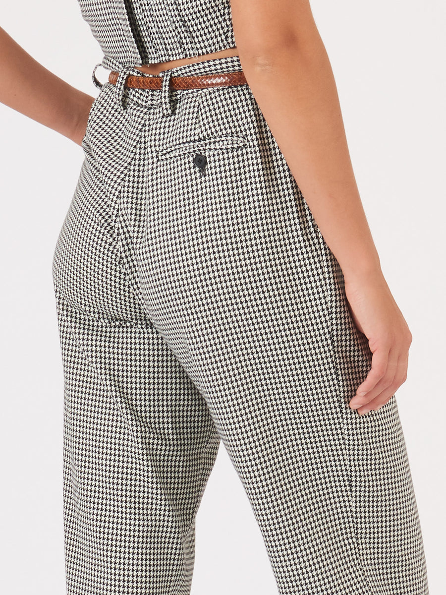 Maryam-Nassir-Zadeh-Black-Houndstooth-Harp-Trouser-on-body