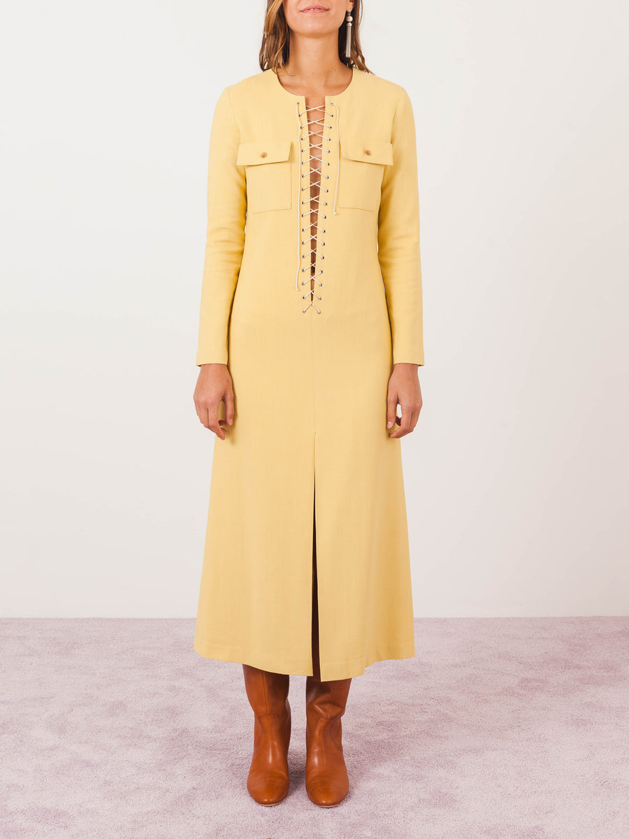 mnz-flaxen-lace-up-loom-dress-on-body