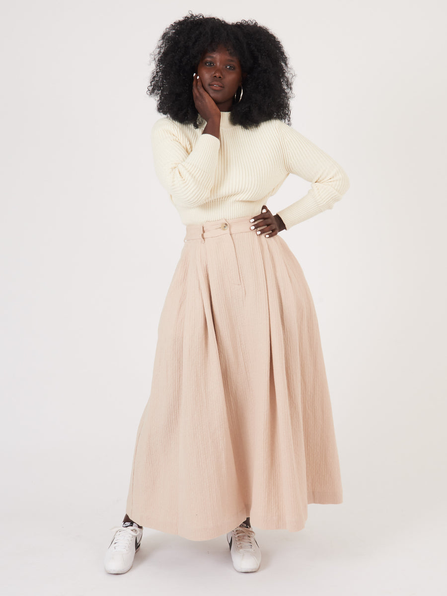 mara-hoffman-blush-tulay-skirt-on-body