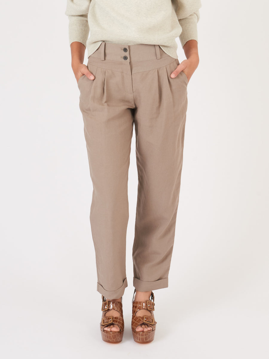 mara-hoffman-grey-liv-pants-on-body