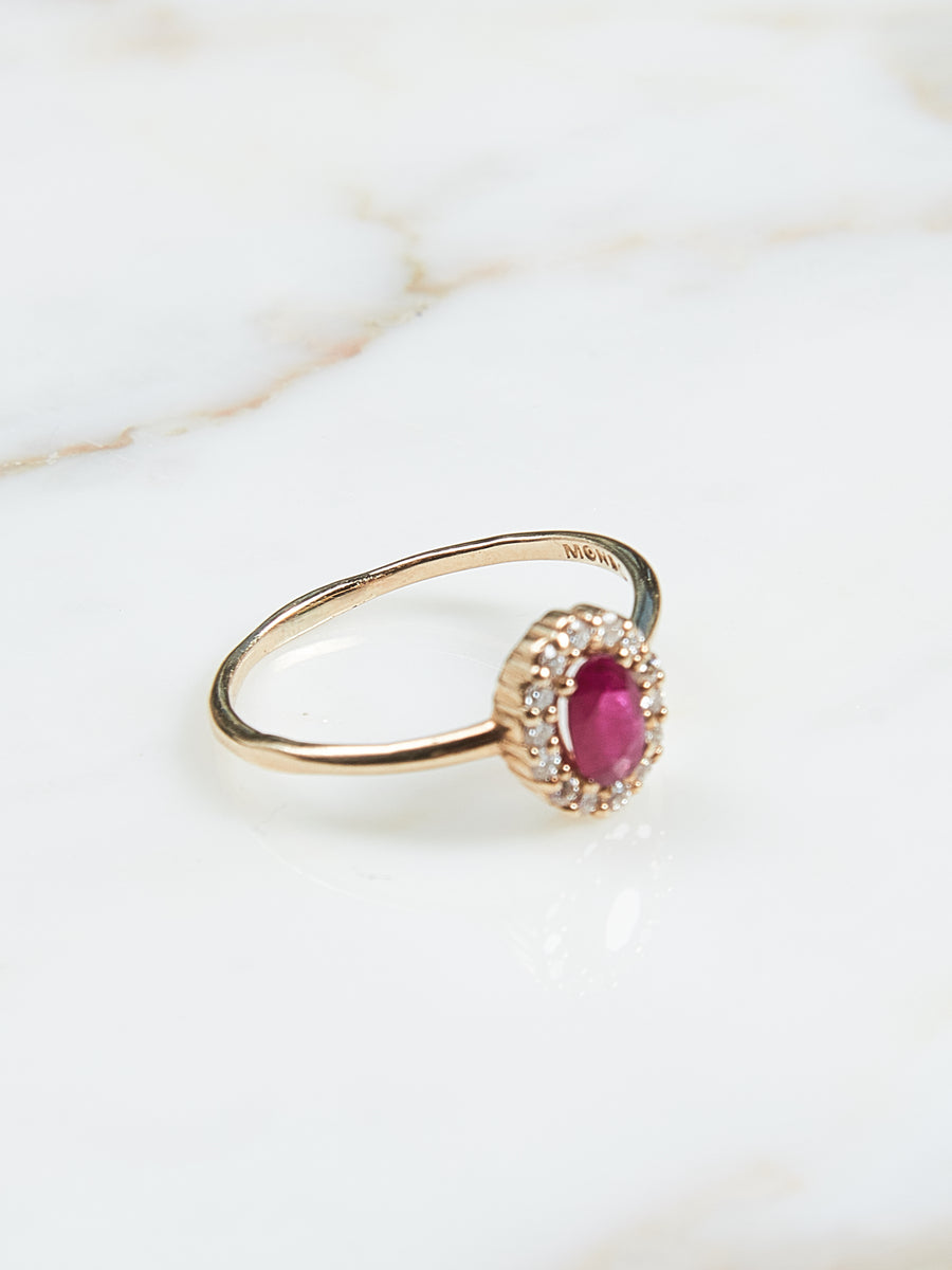 Ruby Divino Ring