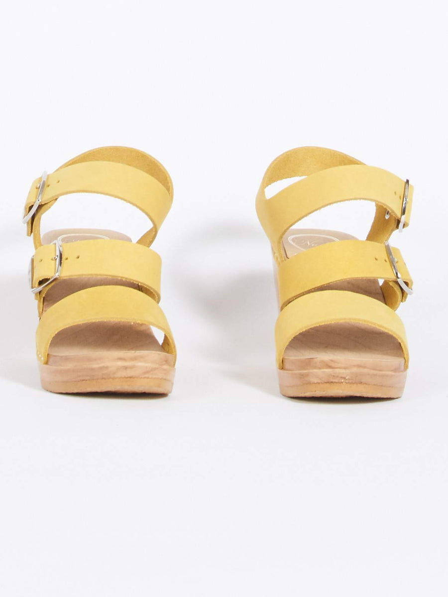 No. 6-Citrine-Rosalia-Clog-On-Wedge