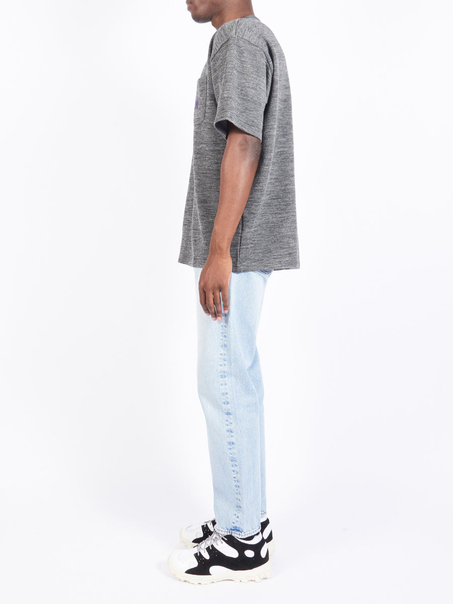 Grey S/S Pocket Tee