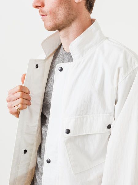 White Chemical Protective Jacket