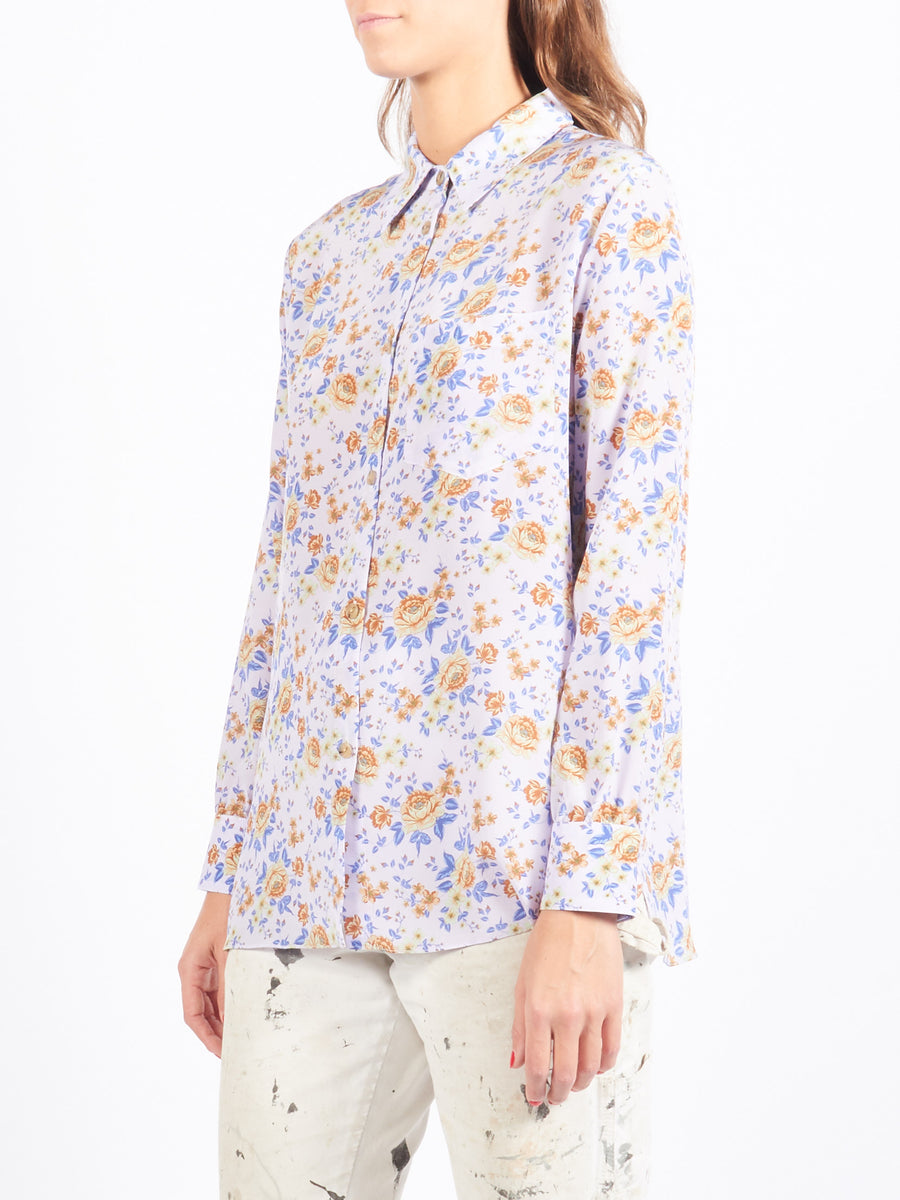 Lilac Bouquet Luke Shirt