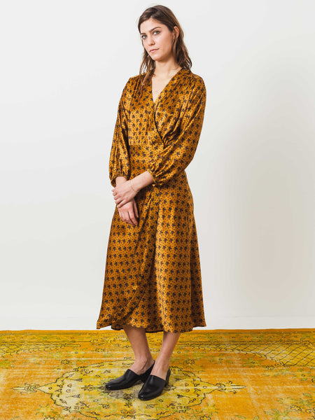 Berta Wrap Dress