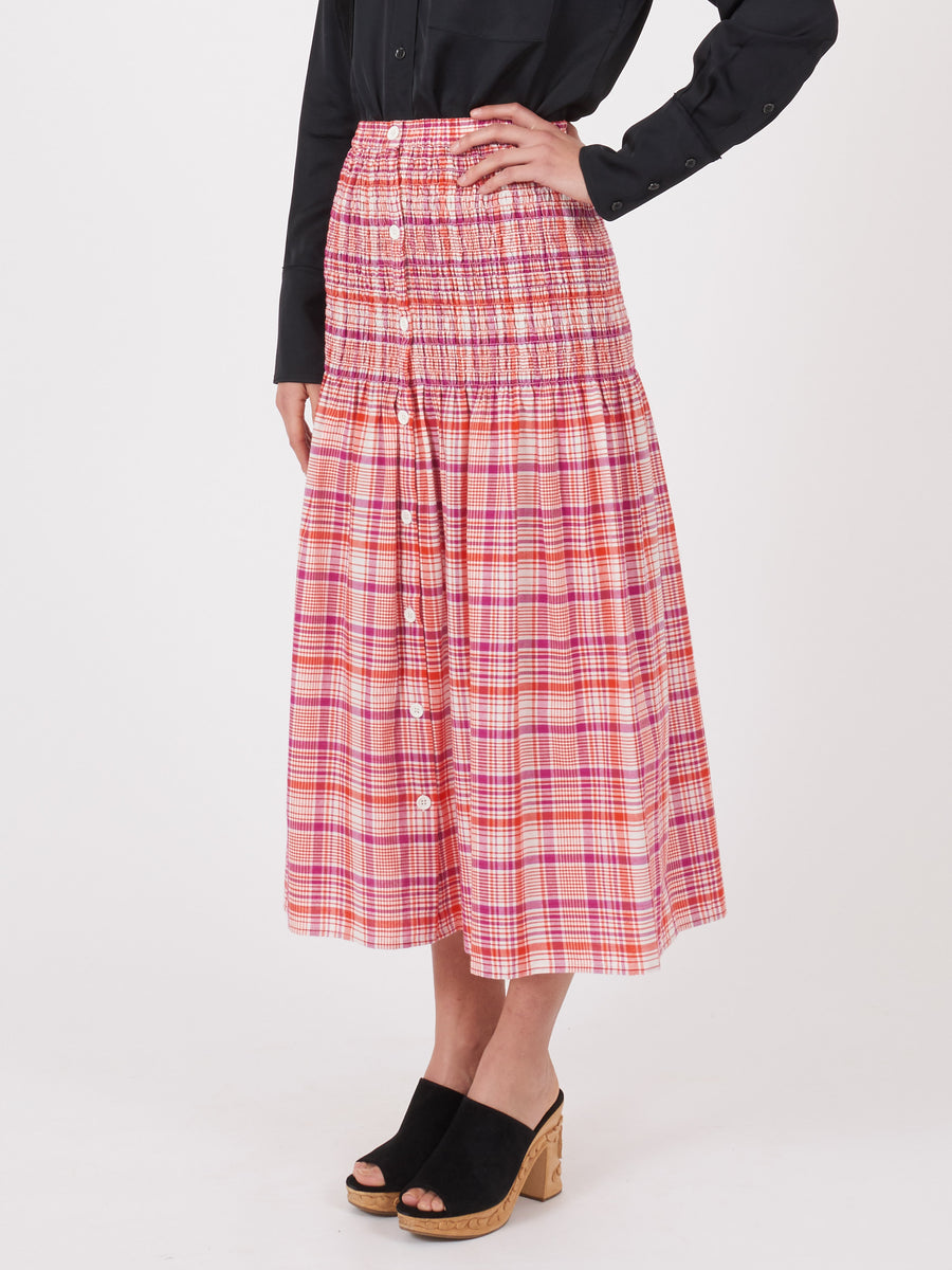 no.6-Purple-Plaid-Hudson-Smocked-Skirt-on-body