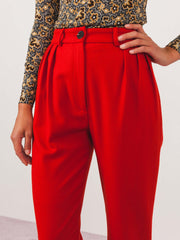 no.6-red-justin-pleated-pants-on-body