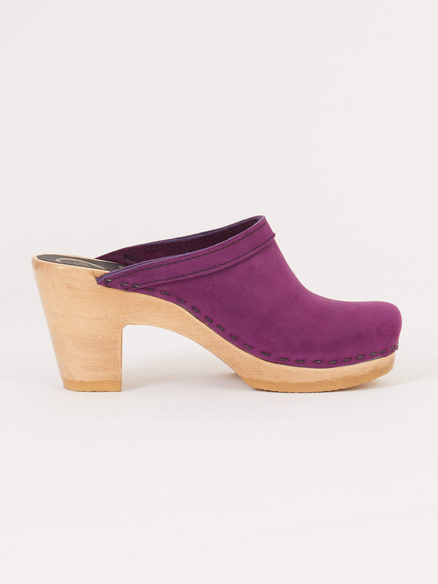 Purple Old School High Heel