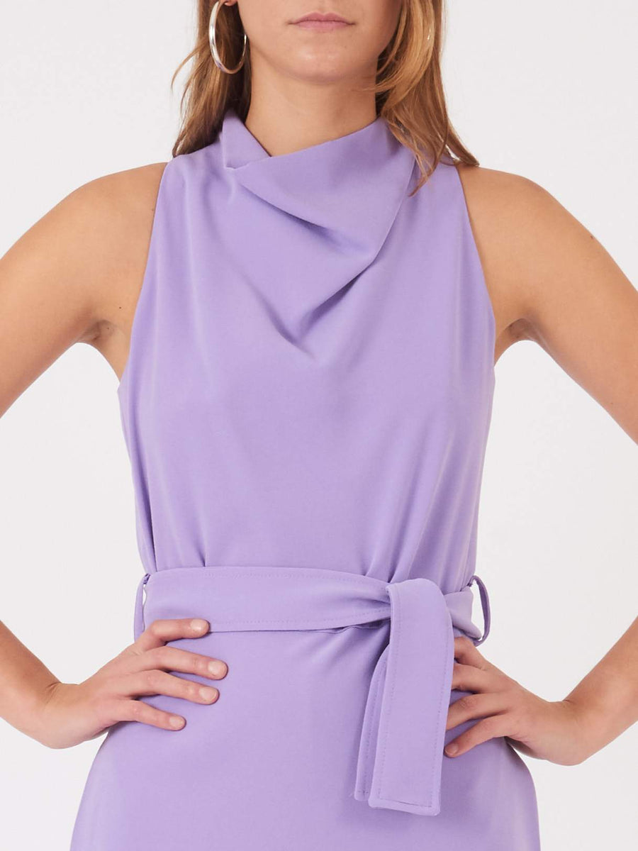 Nomia-Iris-A-Line-Cowl-Neck-Dress-on-body