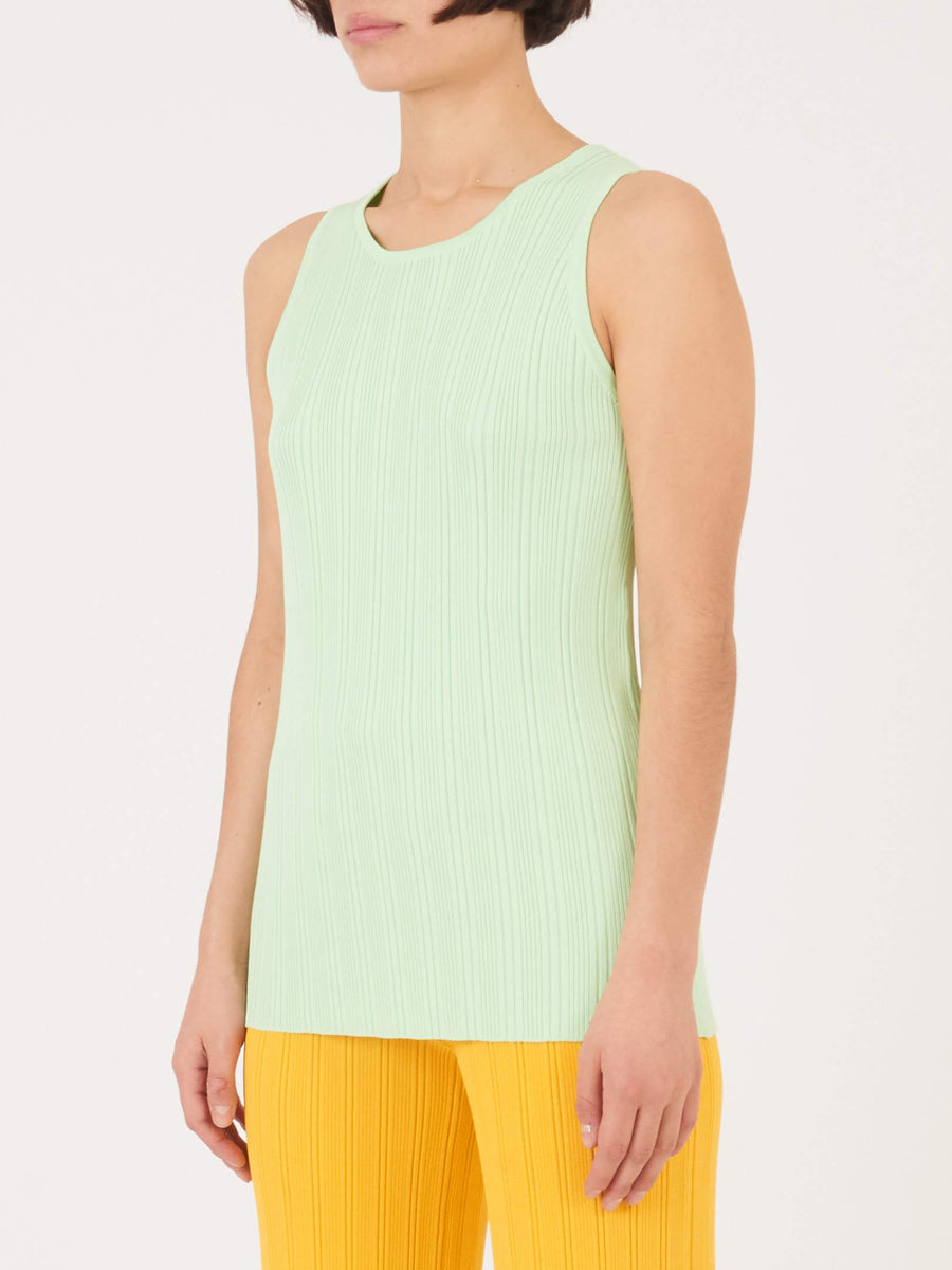 Nomia-Mint-Ribbed-Tank-on-body