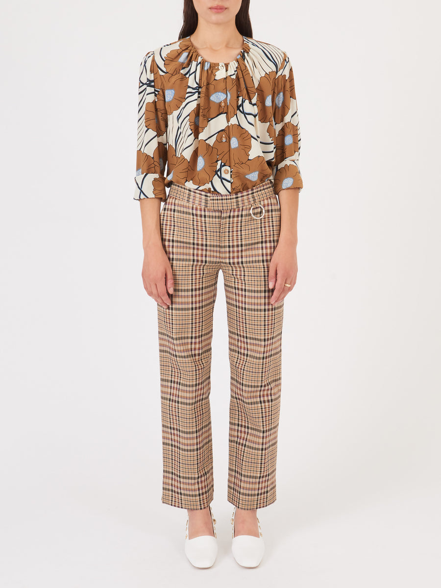 nomia-plaid-cropped-slim-trousers-on-body