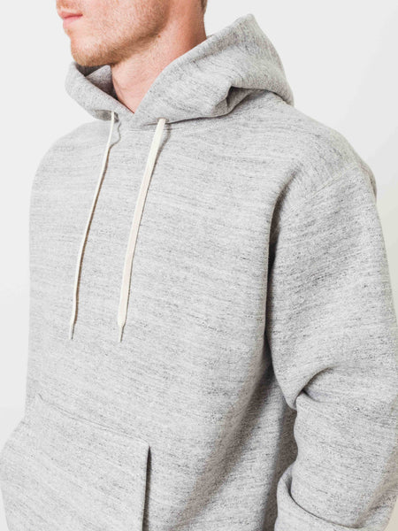 Grey Hooded Pullover