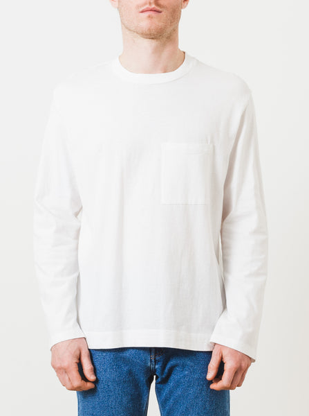 our-legacy-white-box-longsleeve-tee-on-body