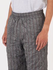Crushed Memory Stripe Reduced Trousers
