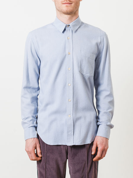 our-legacy-light-blue-silk-classic-shirt-on-body
