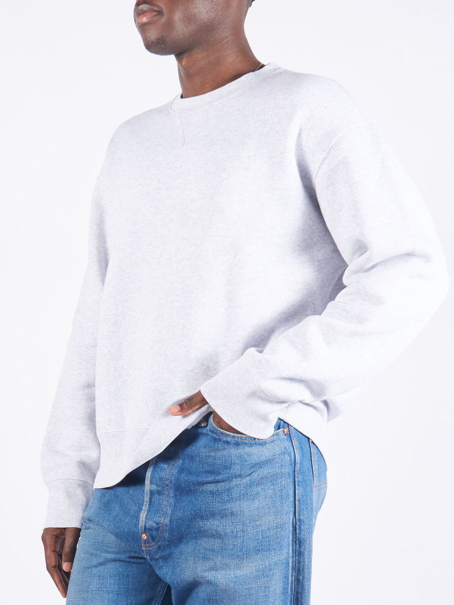Light Grey Melange Base Sweat