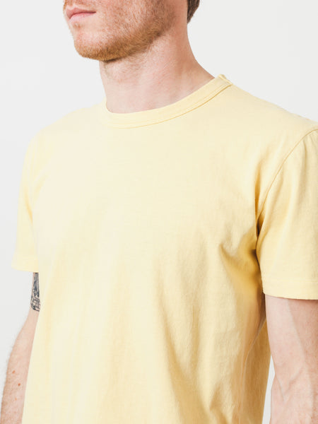 our-legacy-sun-yellow-perfect-t-shirt-on-body