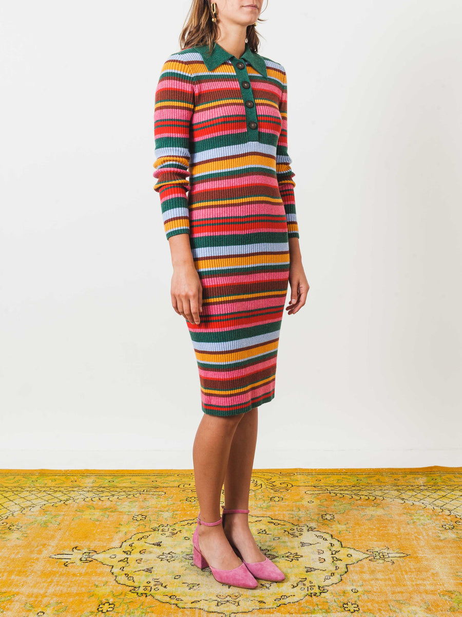 rachel-antonoff-multi-jacki-ribbed-polo-dress-on-body