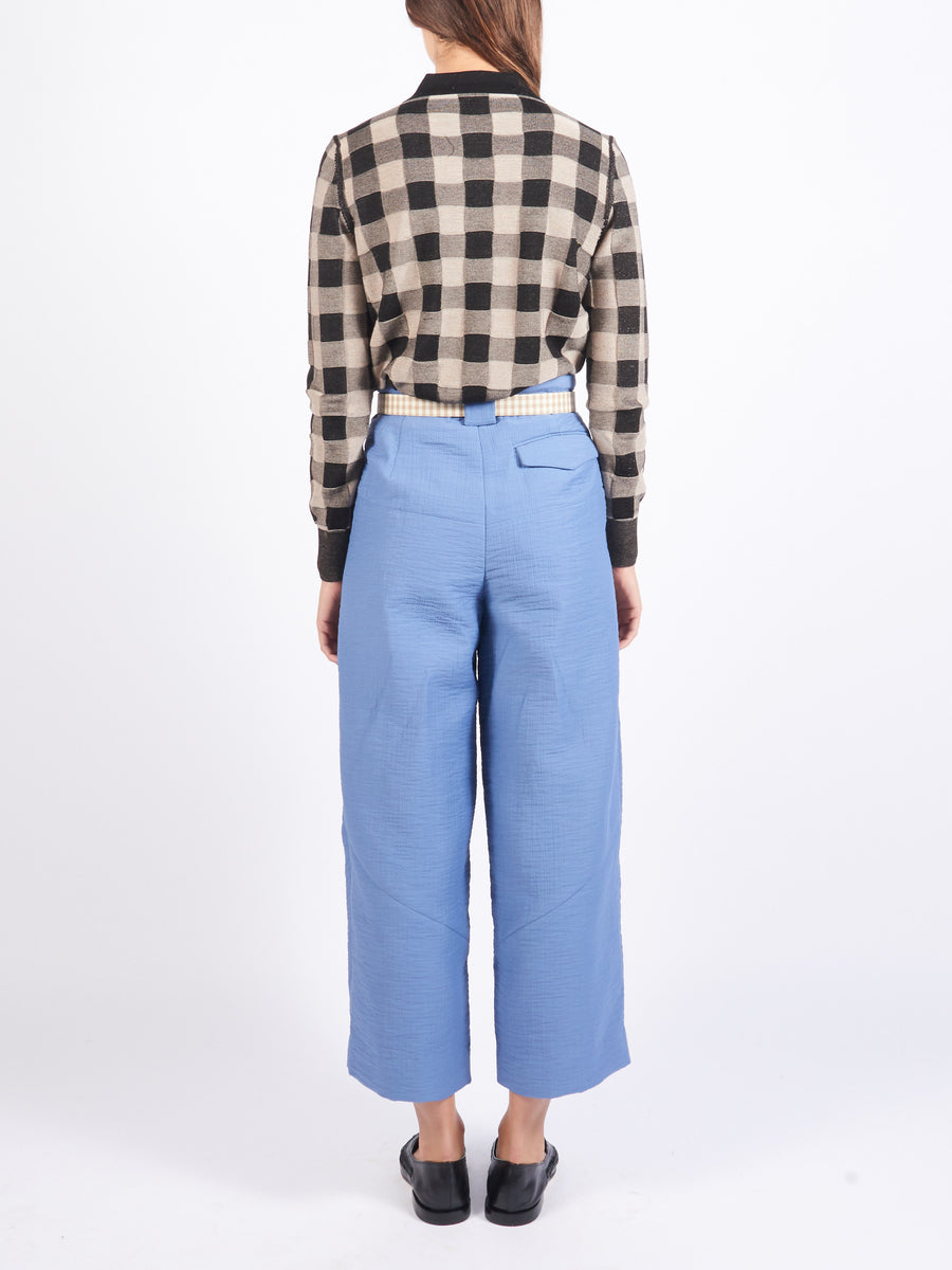 Azure Cropped Divide Pant
