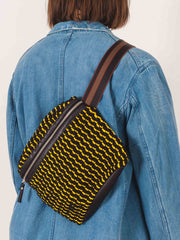 rachel-comey-black/yellow-keno-bag