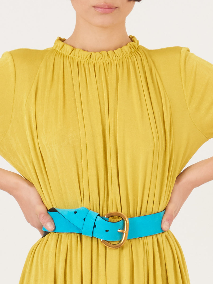 Rachel-Comey-Chartreuse-Gusta-Dress-on-body