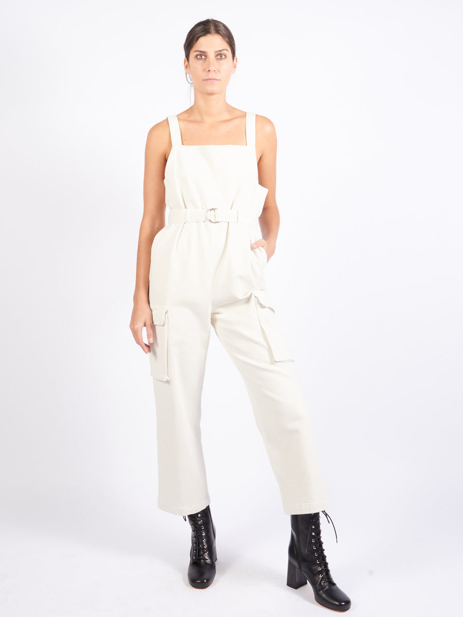 Dirty White Venerate Jumpsuit