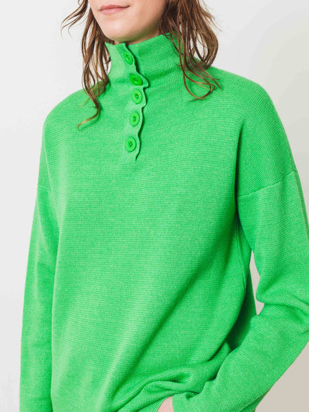 Kelly Green Peri Tunic