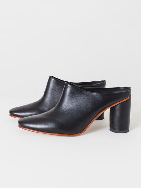 Polished Black Scarpa Heel